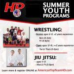 Register Now for our Summer Youth Wrestling or Jiu Jitsu Program!